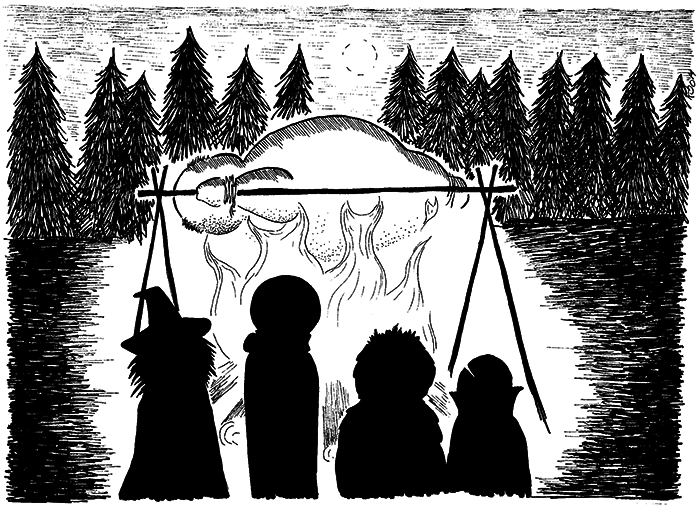 Halloween af Kira Bang-Olsson