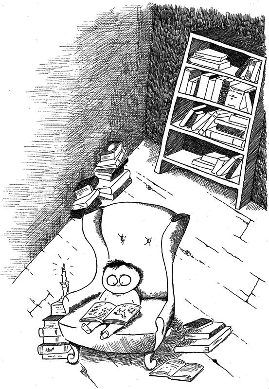 Skitselørdag XVII - Book love - www.denlillesorte.org