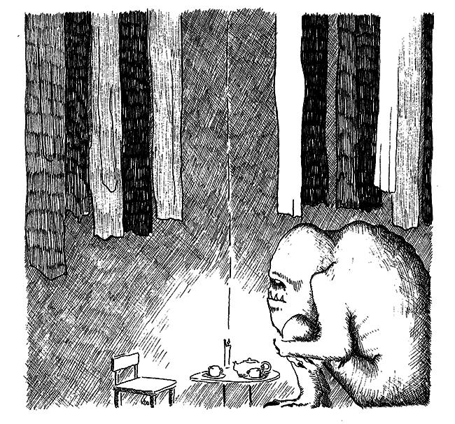 Skitselørdag XV - Der er noget i skabet. www.denlillesorte.org