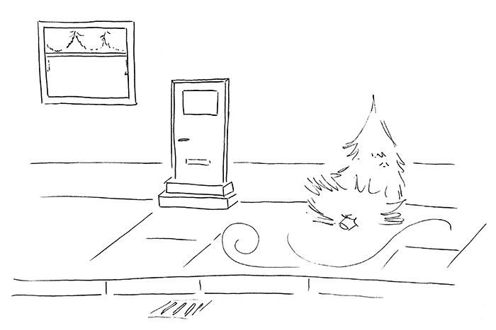 Juletræets skæbne - DenLilleSorte.org