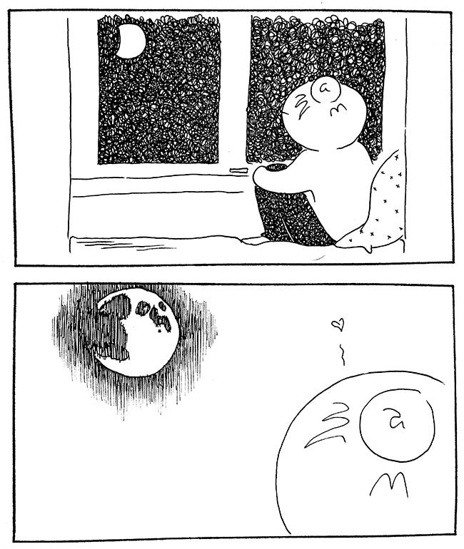 Måne, kære måne - DenLilleSorte.org