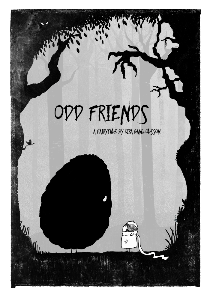 Odd friends cover - by Kira Bang-Olsson