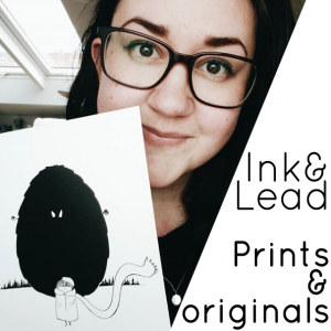 Odd Friends prints and originals by Kira Bang-Olsson